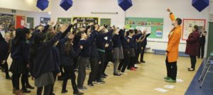 Year 4 go back to the Stone Age with Wicked Workshops
