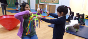 Movement play sessions with Leeds Early Years