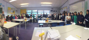 Class 10 held an open classroom for parents and carers