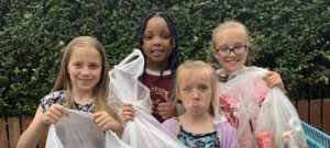 Eco Warriors! Our pupils are litter picking in the community
